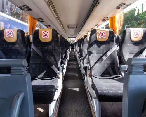 53 Seater Executive Volvo Coaches Inside